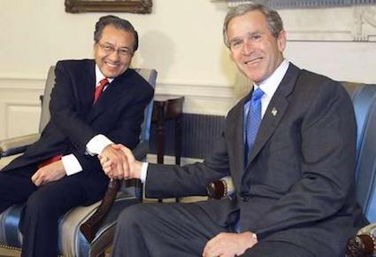 Mahathir-Bush-1